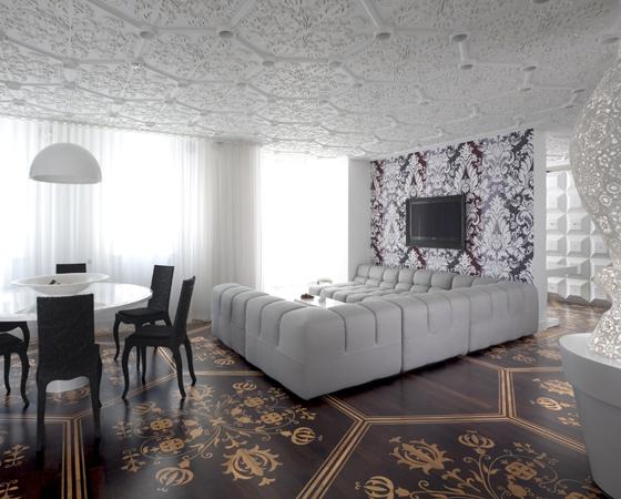 Die Intarsie im modernen Design | Design