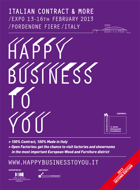 Happy Business to You – the only Italian trade fair exclusively dedicated to 'Contract Made in Italy' | Industry News