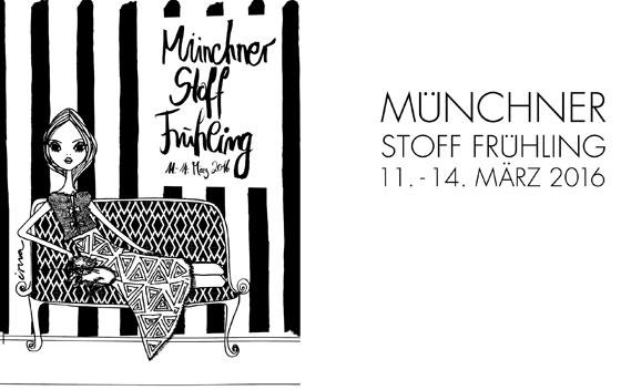 Münchner Stoff Frühling:  11 – 14 March 2016 | Fiere