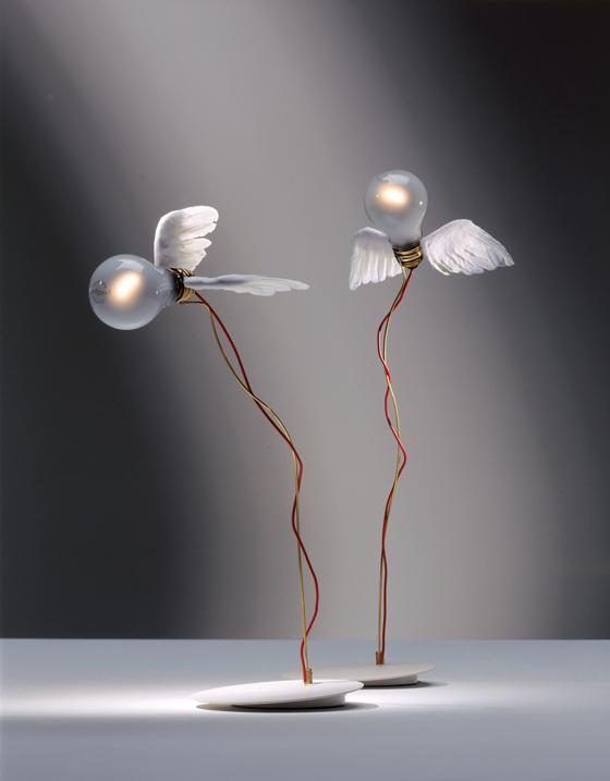 ingo maurer angel s light. Black Bedroom Furniture Sets. Home Design Ideas
