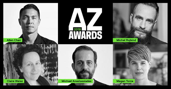 The AZ Awards 2018: Meet the Jury | Novita del settore