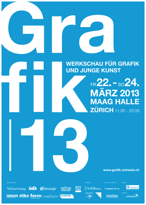 Grafik13 - biggest exhibition for swiss graphic design | Industry News