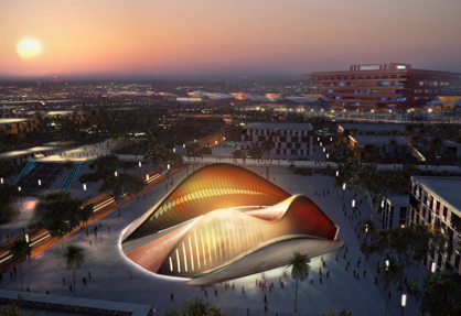 The UAE Pavilion at Shanghai Expo 2010 breaks ground | Nouveautés