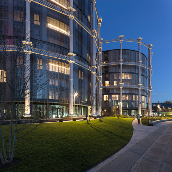 Squaring the circle: WilkinsonEyre's Gasholders London project | News