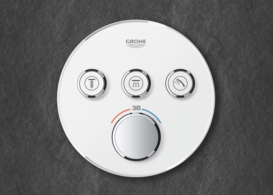 Trust is good, control is better: GROHE SmartControl | News