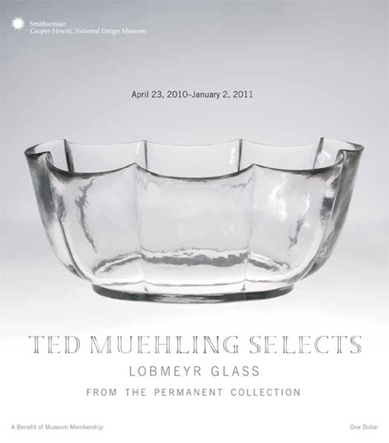 'Lobmeyr Glass' exhibition at Cooper-Hewitt, National Design Museum in New York | Novedades