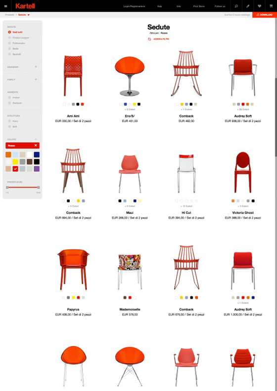 Introducing kartell.com: a transversal and integrated experience of the Kartell World | Industry News