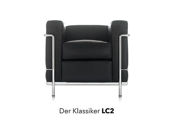 le corbusier reloaded der lc2 bei designfunktion aktuelles. Black Bedroom Furniture Sets. Home Design Ideas