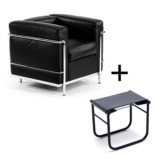 Le Corbusier Reloaded: LC2 at designfunktion | Novedades