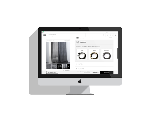 Curtain Up: Architonic's new online shop software goes live | Novedades