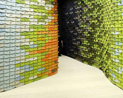 Les north tiles pour partitionner l espace les fr res bouroullec le desi - Les freres bouroullec biographie ...