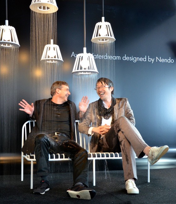 """Axor presents new """"WaterDream"""" installations by Front and Nendo   Industry News"""