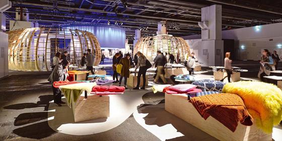 Mit Textilien Räume Gestalten