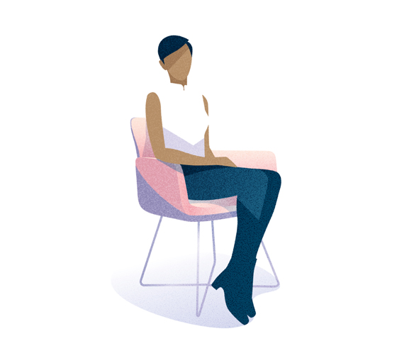 Chest out, head high: the COR ways of sitting | Novedades