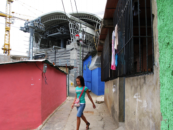 Over Site: how Caracas's new cable-car system is making the city's favelas more visible | News