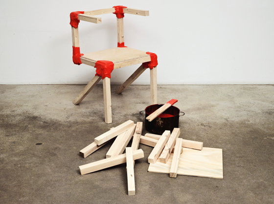 Fancy a joint innovative joinery in new furniture design for Chair etymology
