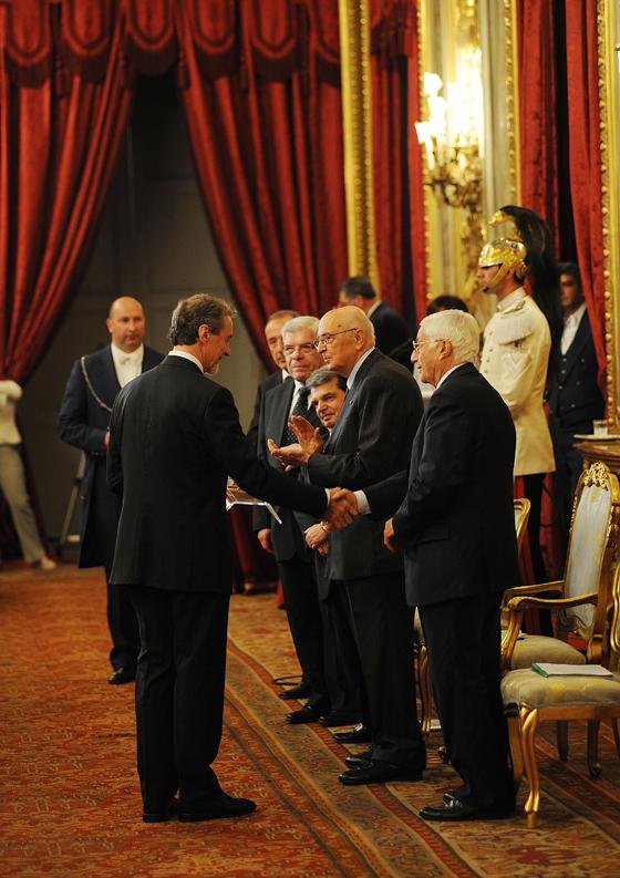 "The ""Premio dei Premi per l'Innovazione 2011"" (the 2011 Prize of Prizes for Innovation) goes to GABRIELE CENTAZZO, the soul of Valcucine | Industry News"