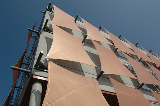 The Very Fabric of Architecture: textile use in construction | News