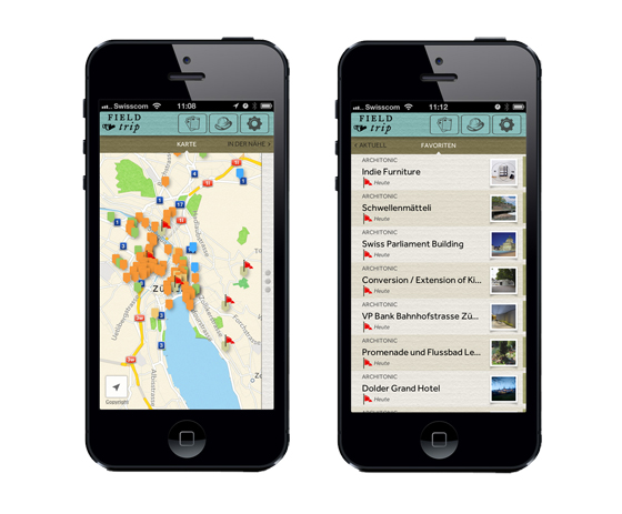 Architonic is now on Google's Field Trip app | Novità