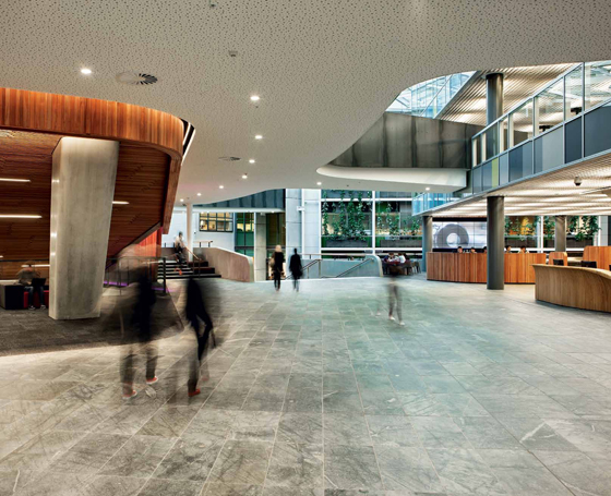 Fluid learning: Sir Paul Reeves Building, AUT University | Architecture