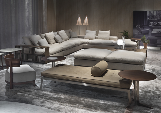 Sweet and Lowdown: Flexform's timeless Groundpiece sofa | News