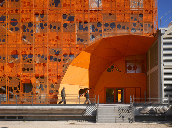 Hole Lot of Sense: smart uses for perforated façades and partitions | Novità