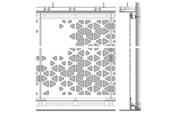Hole Lot of Sense: smart uses for perforated façades and partitions | News