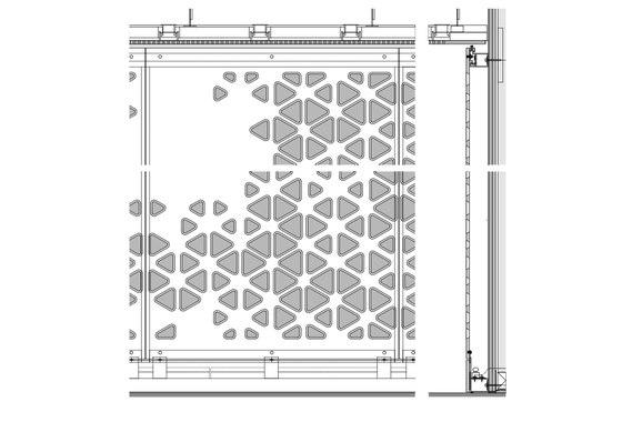 Agujero mucho sentido: usos inteligentes de fachadas perforadas y particiones
