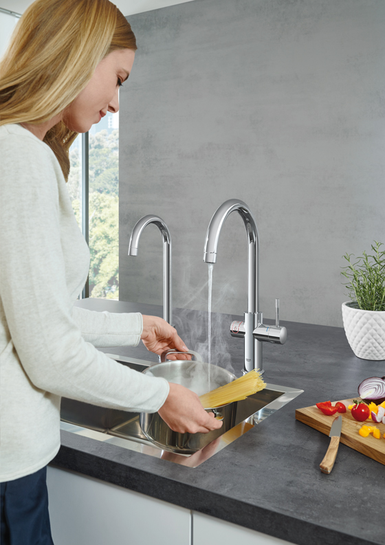 Hit the hot spot: GROHE Red | News