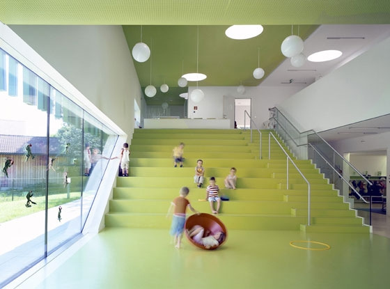 Kindergarten Design Grows Up: contemporary nursery-school projects