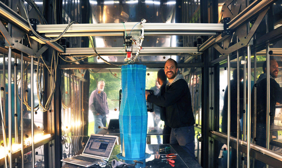 The Printed Environment: 3D printing goes architectural | News