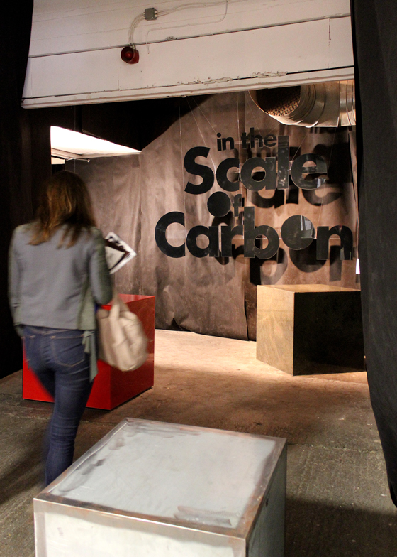 Supersize Me: Materials Council's 'In the Scale of Carbon' exhibition | Novità