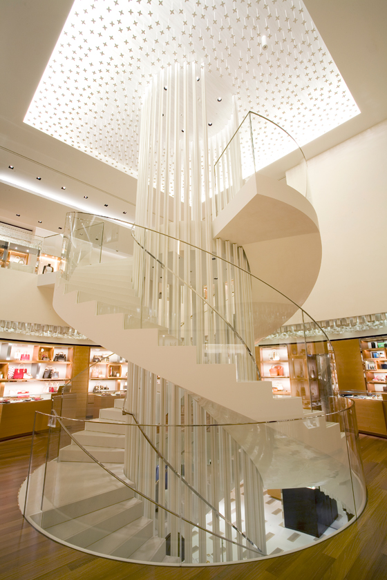 Retail luxe sur mesure | Architecture