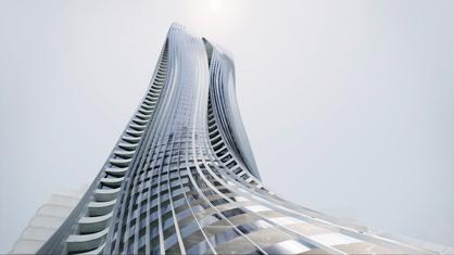 Schumacher Tower in Abu Dhabi