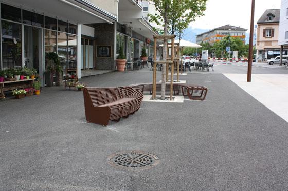 TF URBAN: The Circular Bench | Produkt Innovationen