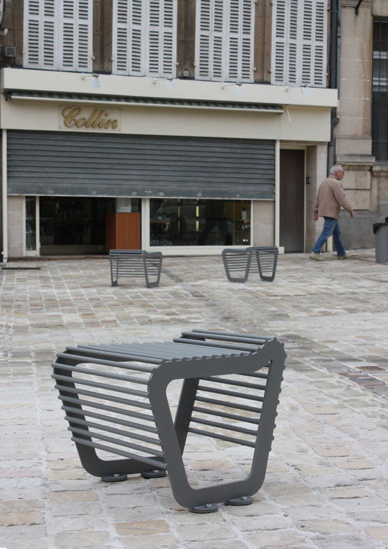 TF URBAN: The Circular Bench | Product Innovations