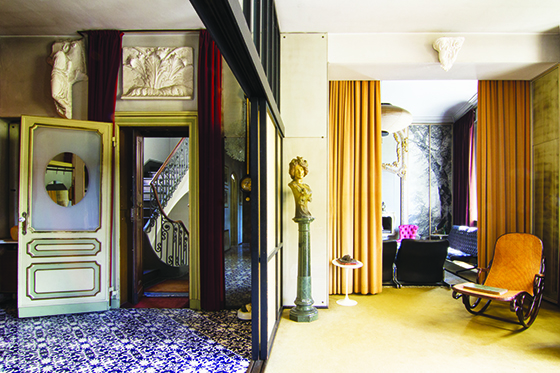Casa Mollino: Citadelle d'un philosophe   Design