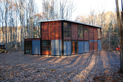 FlatPack House in the Catskills, USA
