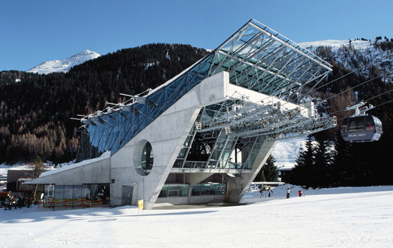 High Alpine buildings – modern day witch houses