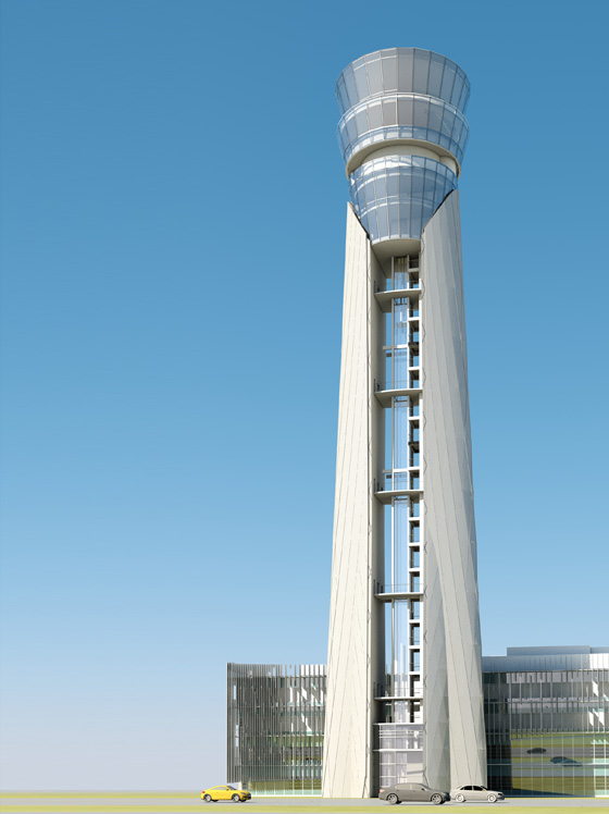 Architecture between heaven and earth: extraordinary Control Tower Design | Architettura