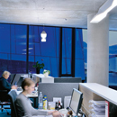 Klarer Durchblick: Zumtobel wirft ein Licht auf die neue Konzernzentrale von OperAlp/SALEWA