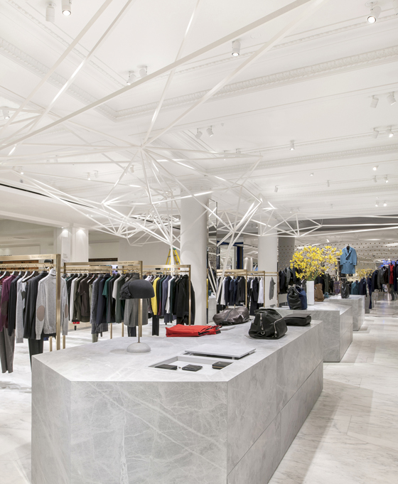 Selling spaces new directions in retail design news for Retail space design