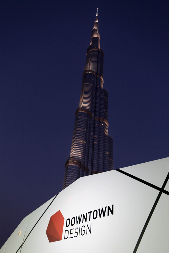 The Only Way is Up: Downtown Design Dubai 2013 | Nouveautés