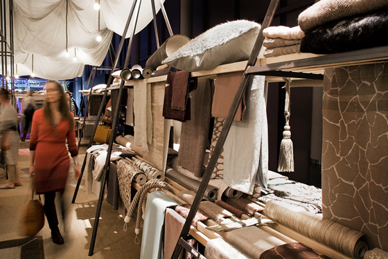 heimtextil 2015 sustainability for textiles in interior design lectures guided tours and. Black Bedroom Furniture Sets. Home Design Ideas