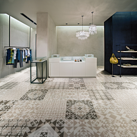 Innovative technology and <b>creative spirit</b> are in the new <b>Frame</b> collection, developed by Ceramiche Refin in partnership with STUDIO FM Milano | Noticias del sector