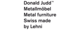 Donald Judd by Lehni | Home furniture