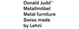 Donald Judd by Lehni | Home furniture