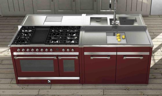 Steel profilo cucina arredo cucine for Cucine professionali per casa
