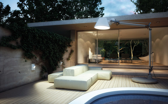 artemide outdoor dekorative leuchten technische leuchten aussenleuchten. Black Bedroom Furniture Sets. Home Design Ideas