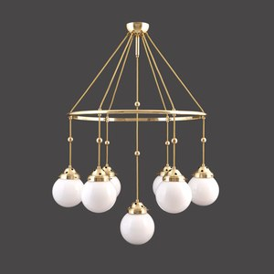 PENDANT LAMPS, CHANDELIERS